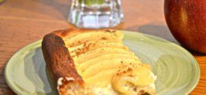 Apfelkuchen mit Hefeteig
