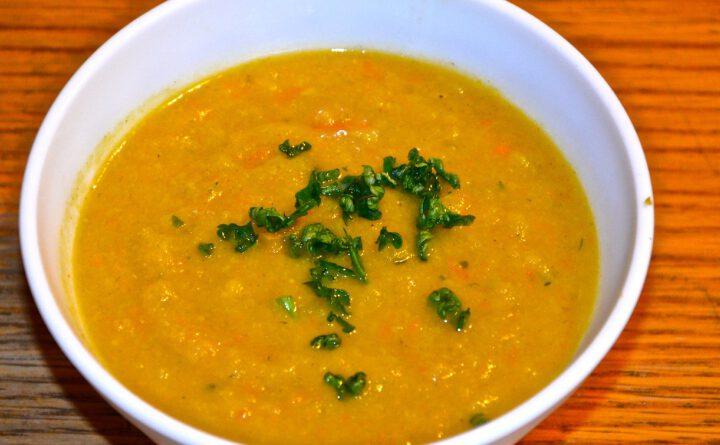 Blumenkohl-Currysuppe