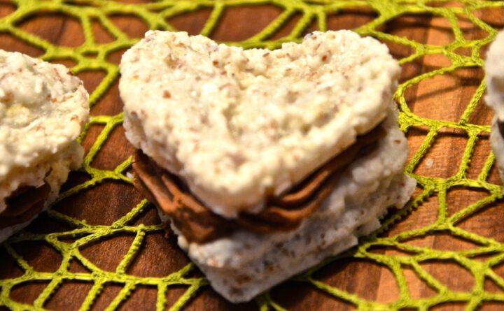Kokos-Schoko-Macarons