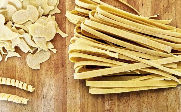 Selbstgemachte Nudeln/Pasta