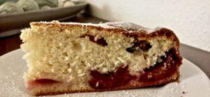 Zwetschgenrührkuchen mit Mascarpone