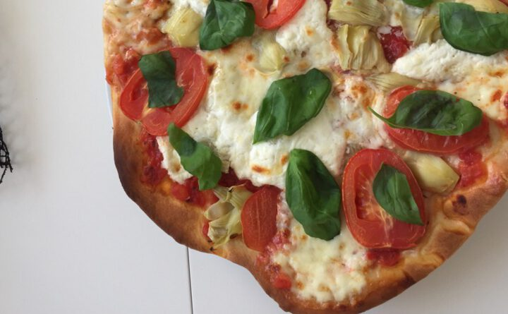 Quark-Öl-Teig Pizza