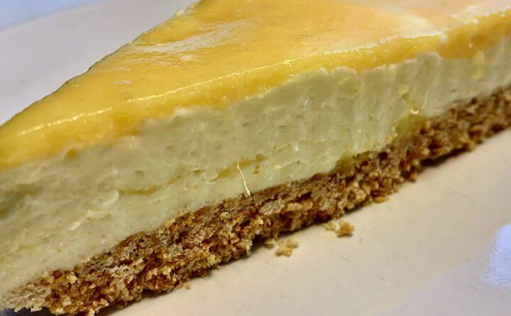 Mango-Vanille-Cheesecake