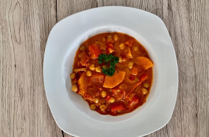 Kicherebsen Curry